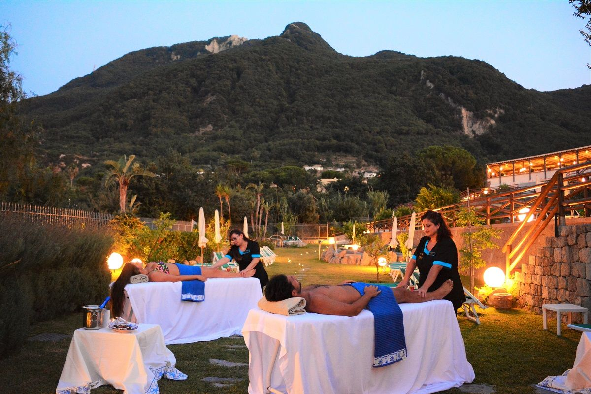 Resort Grazia Terme & Wellness Trattamenti En Plein Air