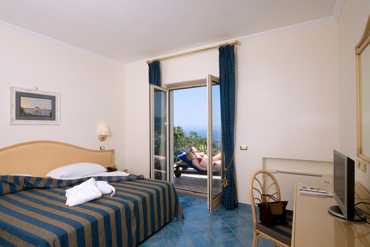Suite vista mare Resort Grazia Terme & Wellness