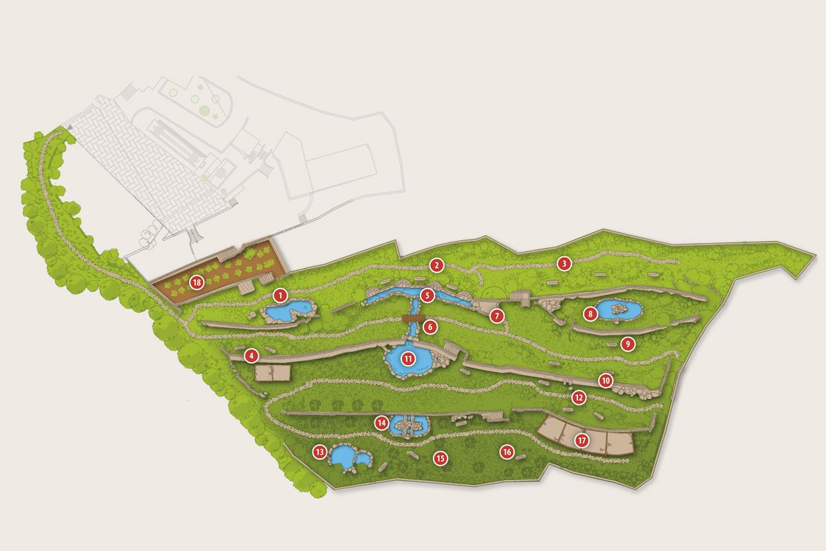Mappa Parco Termale Talia Resort Grazia Tereme & Wellness